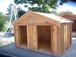 Large Cabin Plans Dog House Plans For Large Dogs Home Designs Ideas Online Zhjan Us