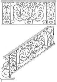 Decorative Iron Railing Panels Railing Designs Wrought Iron Scroll Panels