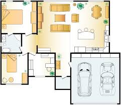 House Plan Layout Small Two Bedroom One Bath House Plan Open Concept With Loft 9