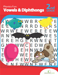 phonics fun vowels and diphthongs workbook education com
