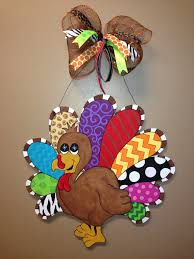 turkey door hanger large turkey door hanger by obveedesign on etsy 55 00