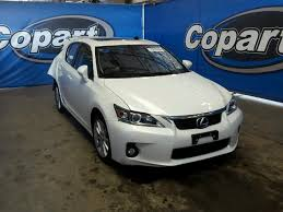 lexus is 200 for sale salvage certificate 2017 lexus ct 200 1 8l 4 for sale in sun
