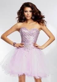 purple dresses at prom dress shop