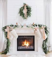 Christmas Decoration Ideas Fireplace Modest Decoration Fireplace Christmas Decor Ideas In Simple Way