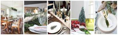 a plaid christmas centerpiece and tablescape green with decor