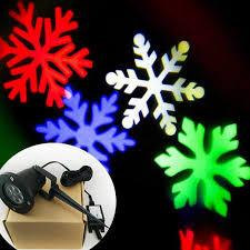 Snowflake Lights Outdoor Outdoor Christmas Rgb Led Effect Light Ip65 Waterproof Showers