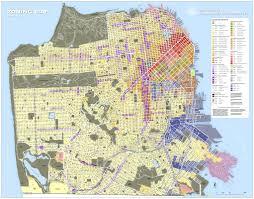San Francisco Traffic Map by Land Use San Francisco