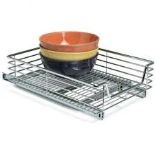 Kitchen Cabinet Pull Out Baskets Sliding Pull Out Baskets For Kitchen And Pantry Storage Storables