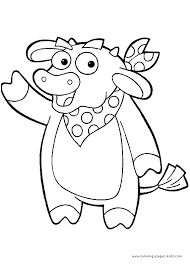 166 dora coloring pages images dora coloring