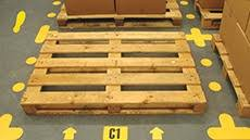aisle markers warehouse floor aisle markers from label source