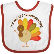 thanksgiving baby bib whyrll