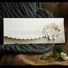 Wedding Envelopes Handmade Arabic Style Royal Wedding Invitation Card With Flowers