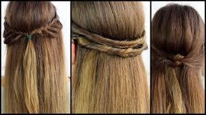 Hochsteckfrisurenen Selber Machen Einfach Schnell halboffene haare schnell und einfach gestyled frisuren freitag