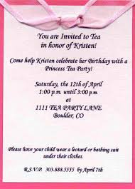 birthday party messages for invitation gallery invitation design