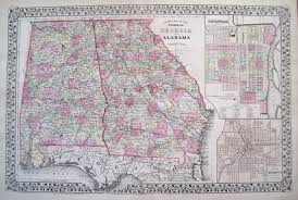 Map Of Florida And Georgia by Antique Maps Of Georgia
