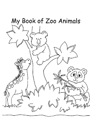 zoo coloring pages realistic animals coloringstar