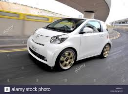 toyota iq modified toyota iq sub compact city car stock photo royalty free