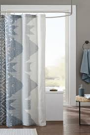 Should Curtains Touch The Floor Shower Curtain Buying Guide Overstock Com