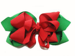 christmas hair bows how to make poinsietta christmas hair bow diy gifts