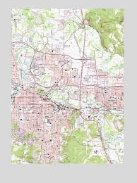 eugene east or topographic map topoquest