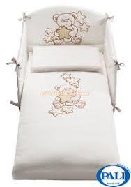 piumone per lettino set tessile pali meggie bianco paracolpi piumone federa cuscino