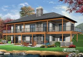 stunning idea modern cabin house plans 14 mountain plans small