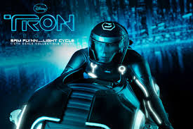 Tron Legacy Light Cycle Toys Tron Legacy Sam Flynn With Light Cycle Hypebeast