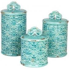 turquoise kitchen canisters teal kitchen canisters foter