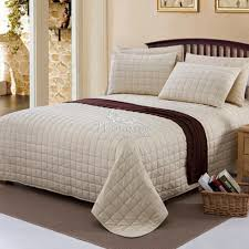 Overstock Com Bedding Bed U0026 Bedding Ariana Quilted Bedspreads In Cream And Gold For