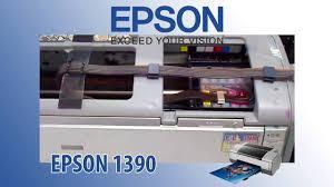 reset epson 1390 printer epson 1390 general error and blinking solution youtube