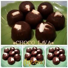 chocolava kukus choco lava isi coklat putih