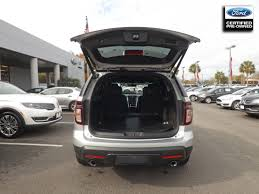 Ford Explorer Trunk Space - certified used cars trucks suvs palmetto ford charleston sc
