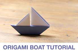 How To Make Boat From Paper - learn how to make a origami sail boat