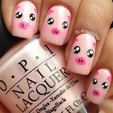 would be cute for toe nails you know u0027 u0027one little piggy two