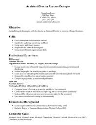 example resume experience resume examples resume template without