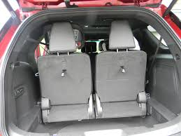 Ford Explorer Cargo Space - carseatblog the most trusted source for car seat reviews ratings