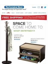 the container store memorable entrance organized exit milled