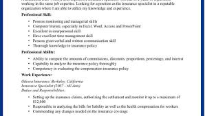 Insurance Sales Resume Examples by Insurance Agent Resume Examples Sample Insurance Agent Resume