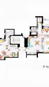 design interior apartments friends tv series floor plans