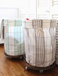 plastic laundry hamper stay practical using laundry baskets on wheels