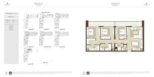 floor plans acacia at park heights dubai hills estate by emaar