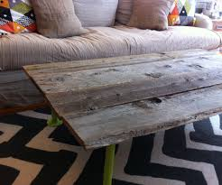 Barn Board Coffee Table How To Build A Coffee Table From Reclaimed Wood 5 Steps With