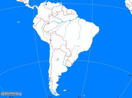 Blank North America Map by Physical Features North America South Practice Map Test Fair South