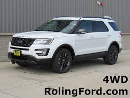 Ford Explorer Xlt - 2017 ford explorer xlt stock n8267 shell rock ia 50670