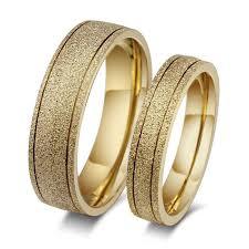 golden couple rings images Vintage couple gold ring for men and women dull polish golden jpg
