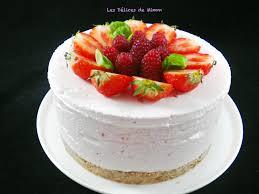 jeux de aux fraises cuisine gateaux gâteau nuage glacé aux fraises les délices de mimm
