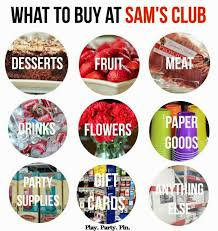 the best things to buy at sam s club play plan