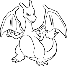 charizard coloring page charizard pokemon coloring page free