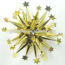 gift wrapping and decorative fancy ribbon bow firework ribbon bows