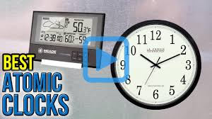 Digital Atomic Desk Clock Top 10 Atomic Clocks Of 2017 Video Review